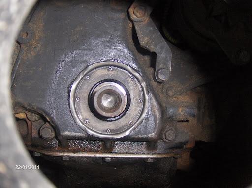 Révision d'une chaine de distribution d'une Série III essence 5 paliers  Distri%2001