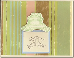 frog b-day