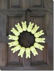 peeps wreath 01
