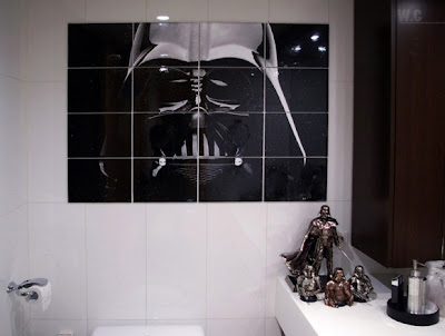 star wars bathroom 582x440 Lo último en decoración al estilo Star Wars