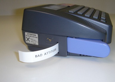 bad attitude label2