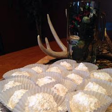 Cream Cheese Snowball Cookies