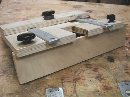 useful jigs for your shop 3 small mortise hinge jig for boxes