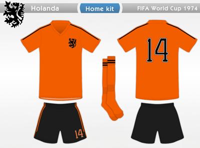 Holanda 1974 H