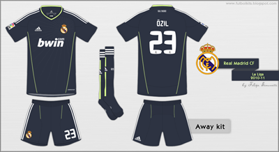 Real Madrid 2010-11 A