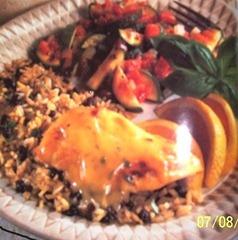 Chicken and Orange 001
