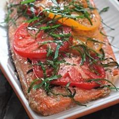 Samon & Basil Tomatoes