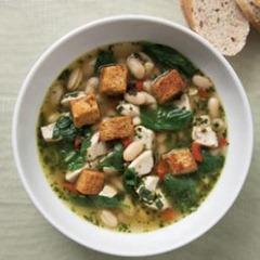 Chicken and Spinach Soup