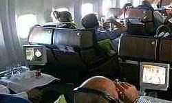 Kabin penumpang pesawat terbang. ZonaAero