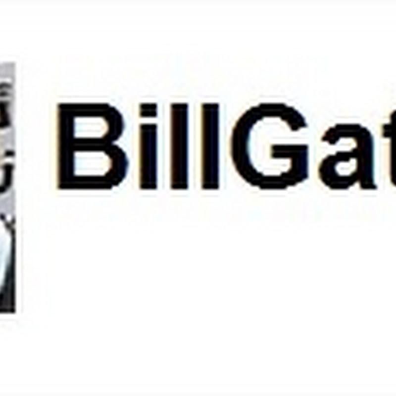 Bill Gates en Twitter