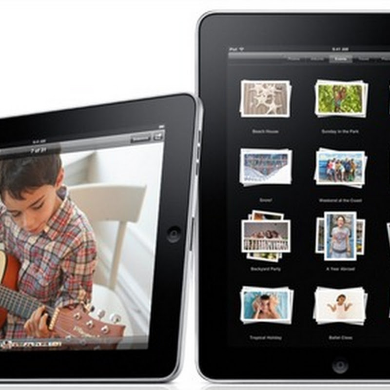 Saluden al iPad, el tablet de Apple