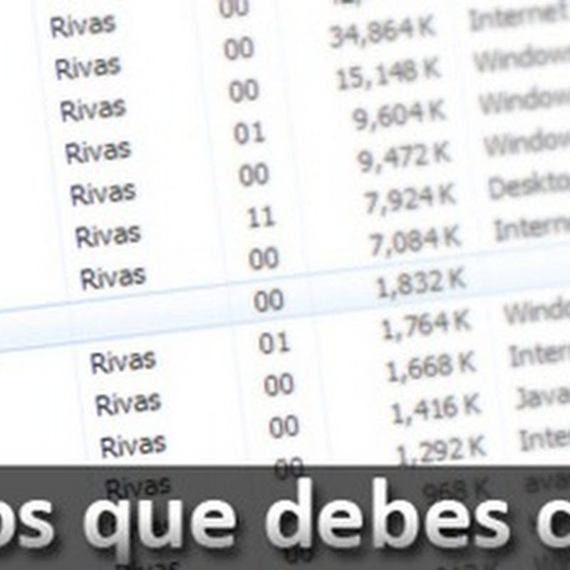 10 procesos de Windows que debes conocer