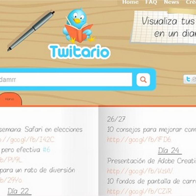 Tu diario Twitter con Twitiario