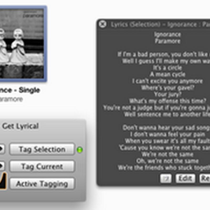 Get Lyrical, aplicación para agregar letra a tus canciones