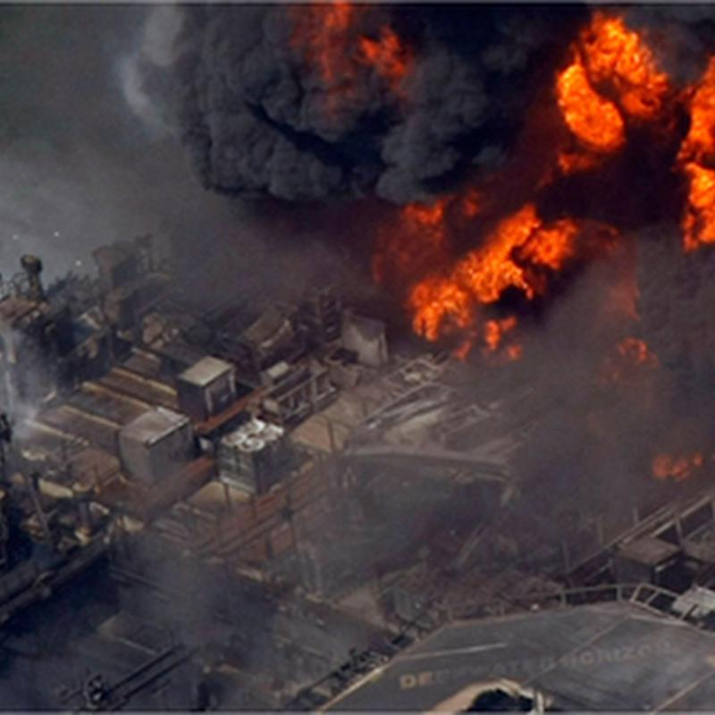 10 fotografías sobre el derrame de petróleo en el Golfo de México