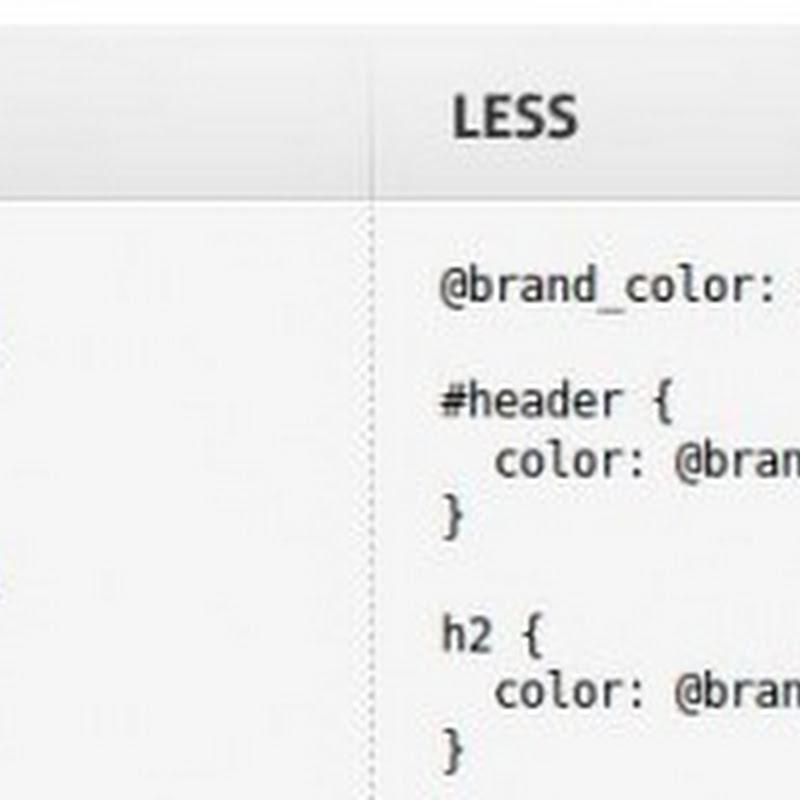 Simplificación en CSS con variables