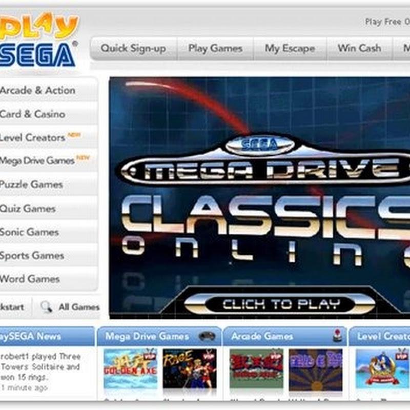 PlaySEGA – Cientos de juegos SEGA online