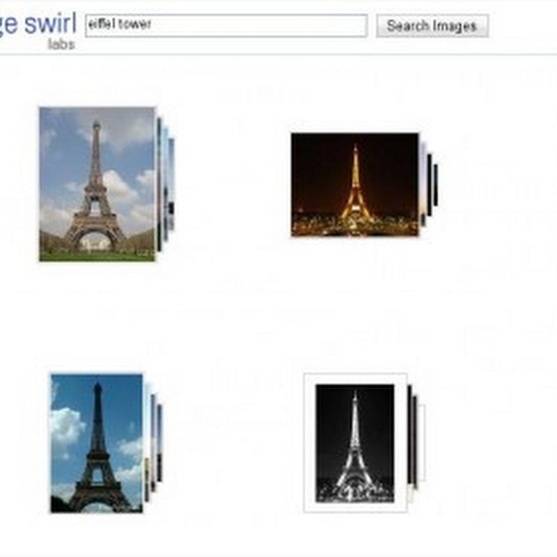 Lanzamiento de Google Image Swirl