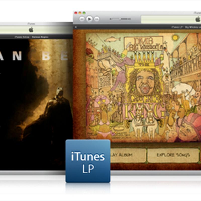 Apple libera iTunes LP y iTunes Extras para los desarrolladores