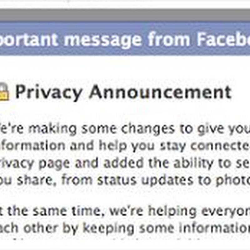 Facebook presenta su configuración de privacidad