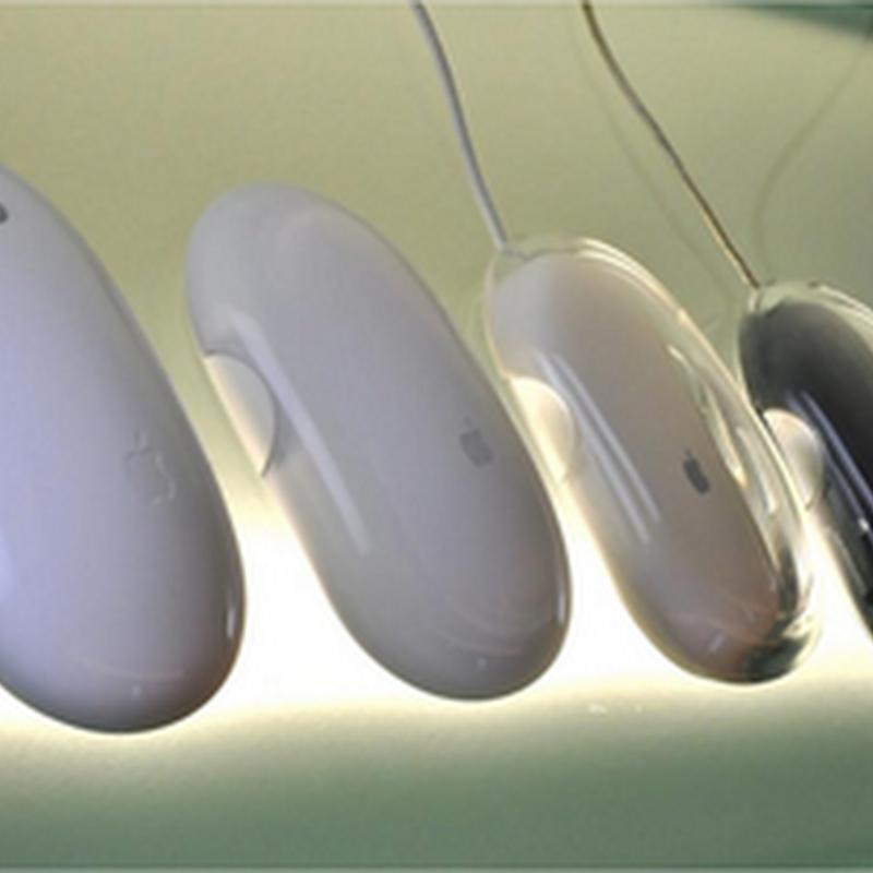 Evolución del mouse de Apple