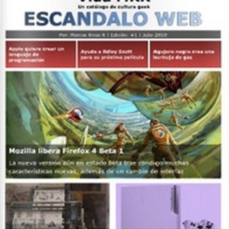 Escándalo web: las noticias más sobresalientes