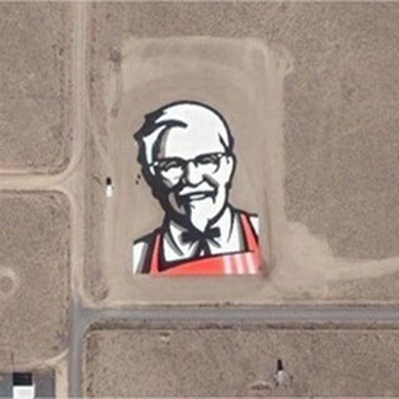 40 imágenes bizarras tomadas desde Google Earth