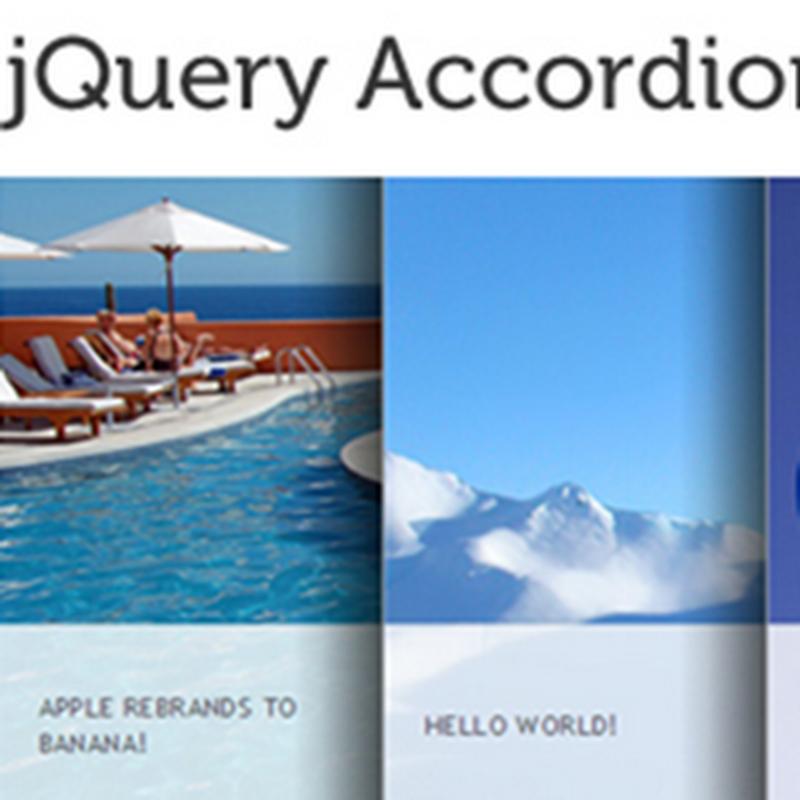 40 tutoriales para crear un slider en jQuery