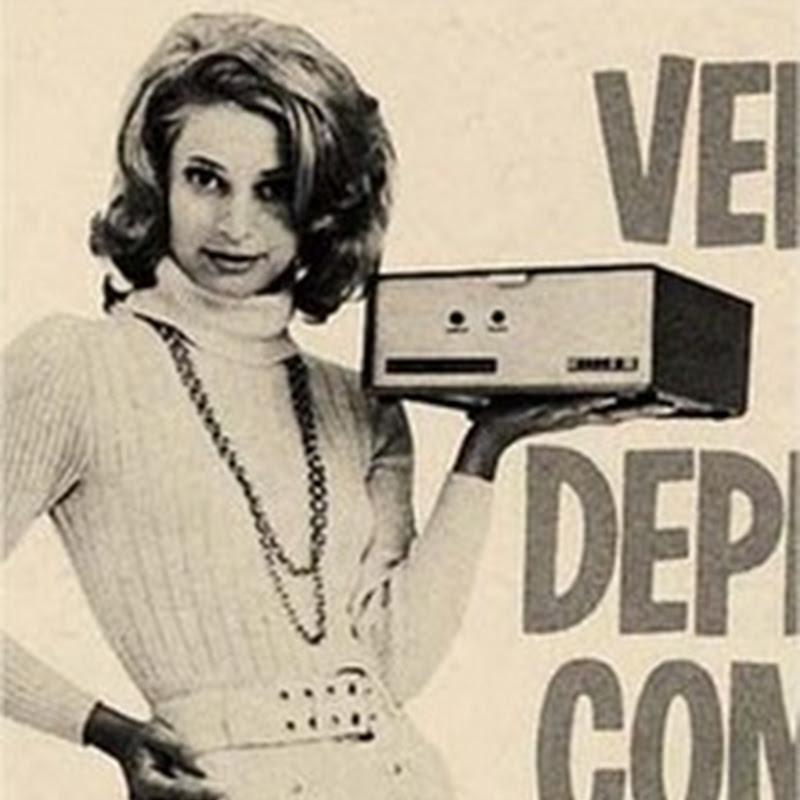 Publicidad retro de computadoras