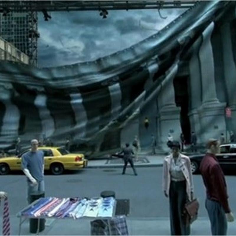 Detrás de cámara de efectos del cine con 'Matte Painting'