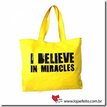 Bolsa I believe in miracles