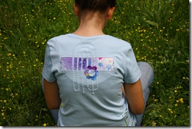 Maglietta con inserto stoffa-10