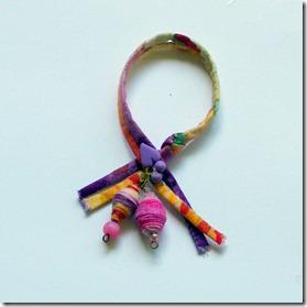 collana di stoffa fucsia-9
