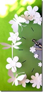 orologio fiorito