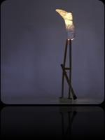 Une lampe qui prend son pied et s'envoie en l'air avec sa béquille…
