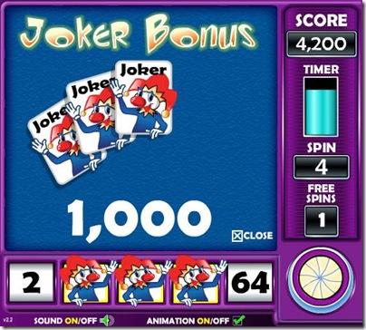 3 Joker Bonus