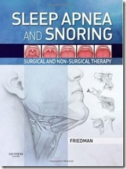 Sleep Apnea and Snoring  Surgical and Non-Surgical Therapy
