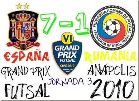 españa 7-1 rumanía