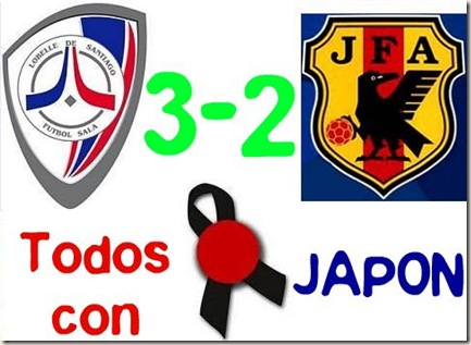 TODOS CON JAPON LOBELLE 3-2 JAPON