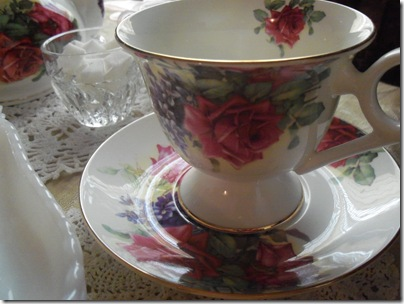 Matching teapot gift tea 011