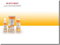 burt bees acme samples
