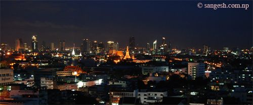 Bangkok City - Night Photography