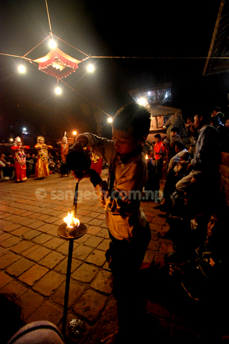 Kartik Naach at Patan Durbar Square