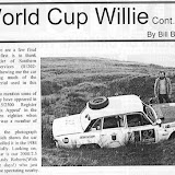World Cup Willie by Bill Bolton from Six Appeal