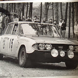 XJB303H - post World Cup and driven here by Hilebrand Bos with Ann Bos navigating - 6º Rallye TAP, 1972. Beleived to have retired due to gearbox issues. Picture courtesy of Phill Stonley