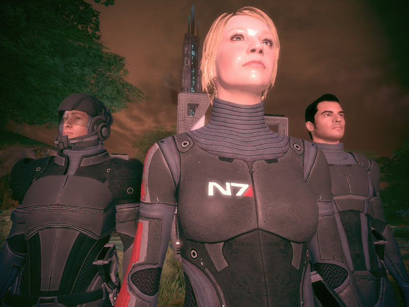 Mass Effect 2 Armor and Casual Wear Hacks (or, \