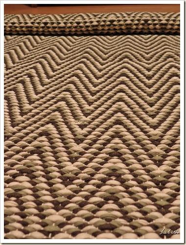 Mönstrad matta