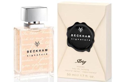 Casal Beckham em frascos!