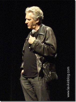 Дэвид Кроненберг (David Cronenberg) отвечает на вопросы зрителей (23 сентября 2010 года)