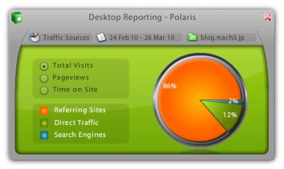 Polaris 起動画面